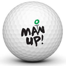Man Up Golf Ball