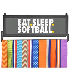 AthletesWALL Medal Display - Eat Sleep Softball