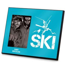 Skiing Photo Frame - Ski Mountain Silo