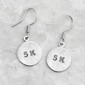 Livia Collection Sterling Silver Matte 5K Earrings