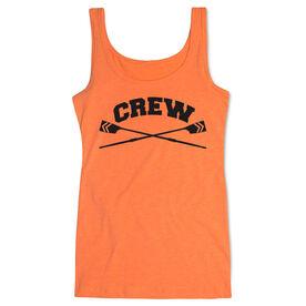 Crew Women's Athletic Tank Top Crossed Oars