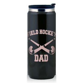 Stainless Steel Travel Mug Field Hockey Dad