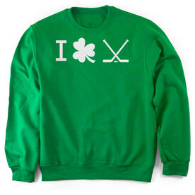 Hockey Crew Neck Sweatshirt - I Shamrock Hockey