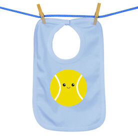 Baby Bib Mini Tennis Ball Smile (Boy)