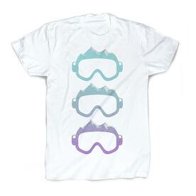 Skiing & Snowboarding Vintage T-Shirt - Mountain Goggles