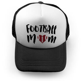 Football Trucker Hat Mom