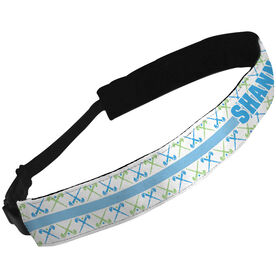 Julibands No-Slip Headbands Personalized Field Hockey Sticks Pattern