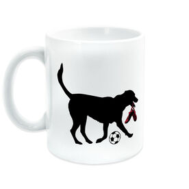 Soccer Ceramic Mug Sammy Soccer The Dog