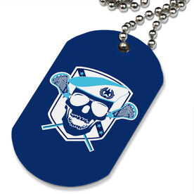 Lacrosse Printed Dog Tag Necklace Death Match Lacrosse
