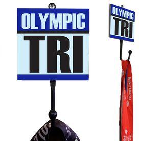 Olympic Tri Medal Hook