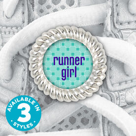 Shoe Lace Charm Runner Girl