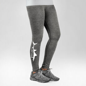 Fly Fishing Performance Tights Bluefish Silhouette