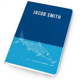 Fly Fishing Notebook Nibbling Bonefish