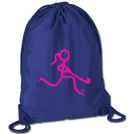 Field Hockey Sport Pack Cinch Sack Neon Field Hockey Girl