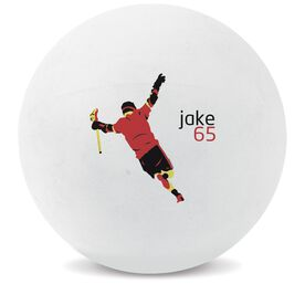 Personalized Game Winner Lacrosse Ball (White Ball)