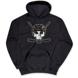 Hockey Standard Sweatshirt - Hockey Helmet Skull