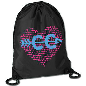 Running Sport Pack Cinch Sack Cross Country Love