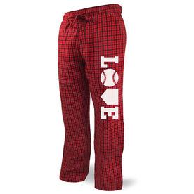 Softball Lounge Pants Love