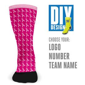 Customized Printed Mid Calf Team Socks Hope