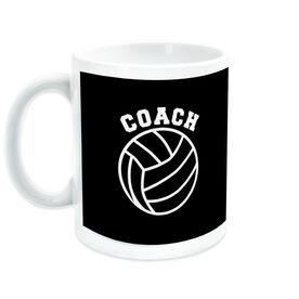 Volleyball Ceramic Mug Coach