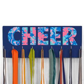Cheerleading Hooked on Medals Hanger - Floral Cheer