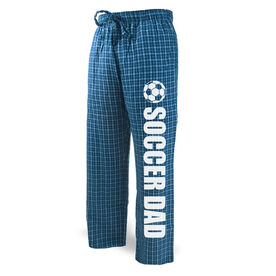 Soccer Lounge Pants Soccer Dad with Ball