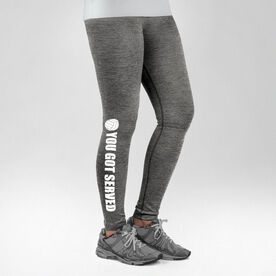 Volleyball Performance Tights You Got Served