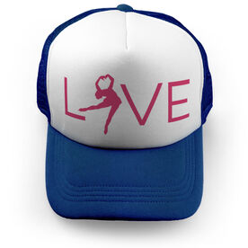 Figure Skating Trucker Hat - Love