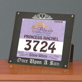 BibDISPLAY - Runners Race Bib Frame - Once Upon a Run