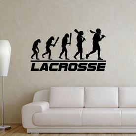 Guys Lacrosse Removable ChalkTalkGraphix Wall Decal - Evolution