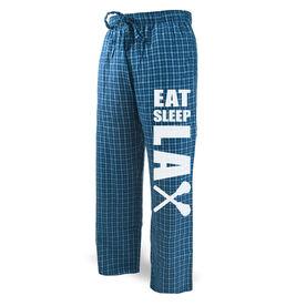 Lacrosse Lounge Pants Eat Sleep Lax
