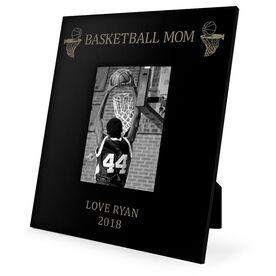 Basketball Engraved Picture Frame - Basketball Mom