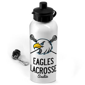 Lacrosse 20 oz. Stainless Steel Water Bottle Custom Lacrosse Logo With Team Name