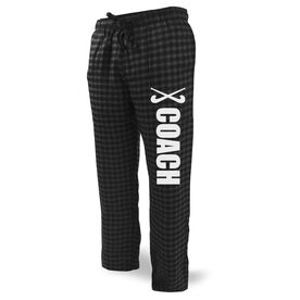 Field Hockey Lounge Pants Coach with Sticks