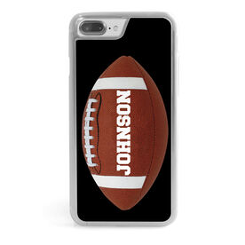 Football iPhone® Case - Personalized Football Image Vertical