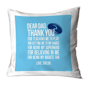 Rugby Pillow Dear Dad