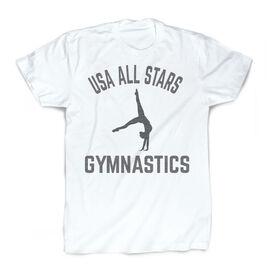 Vintage Gymnastics T-Shirt - Personalized Team