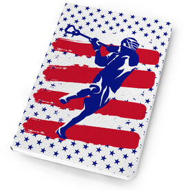 Guys Lacrosse Notebook USA Laxer