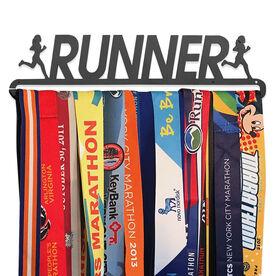 Race Medal Hanger Runner Girl MedalART