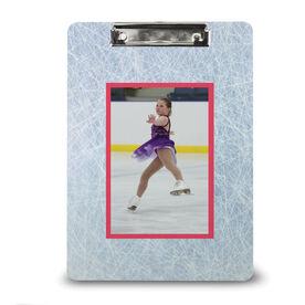 Figure Skating Custom Clipboard Figure Skating Your Photo Pattern