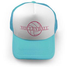 Volleyball Trucker Hat - Crest