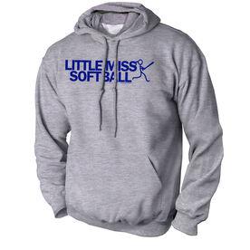 Softball Standard Sweatshirt Little Miss Softball