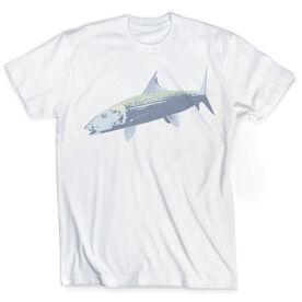 Vintage Fly Fishing T-Shirt - Bonefish