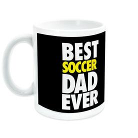 Soccer Ceramic Mug Best Dad Ever