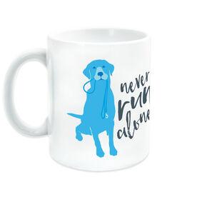 Running Ceramic Mug Never Run Alone