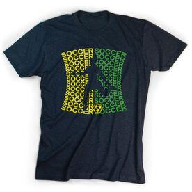 Soccer Tshirt Short Sleeve All Soccer Female