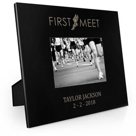 Track & Field Engraved Picture Frame - First Meet