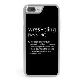 Wrestling iPhone® Case - Definition