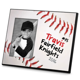 Baseball Personalized Photo Frame Ball Graphic