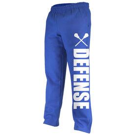 Lacrosse Fleece Sweatpants Lacrosse Defense Bold
